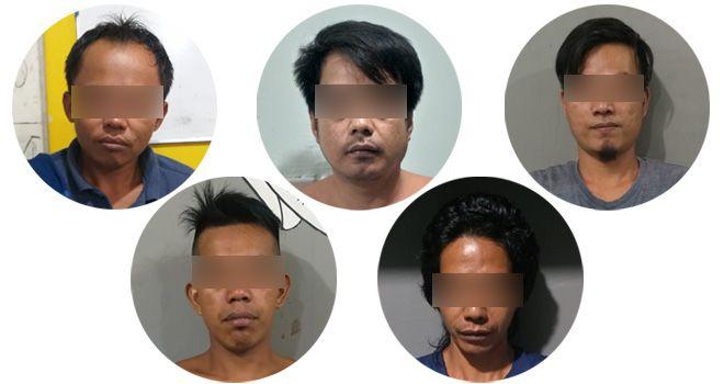 Terduga Pelaku Pembakaran Posko Covid-19 Desa Air Batu Merangin Ditangkap.