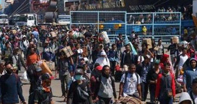 Tradisi Mudik di Indonesia.