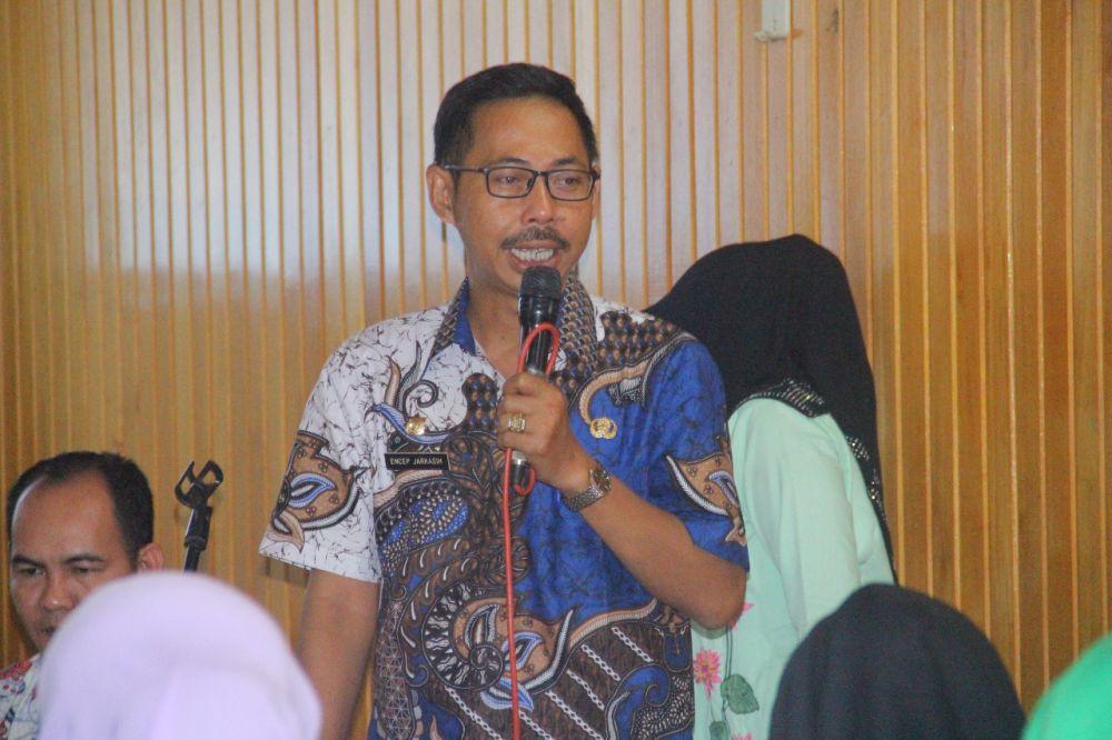 Kepala Inspektorat Kabupaten Tanjung Jabung Barat, Encep Jarkasih.