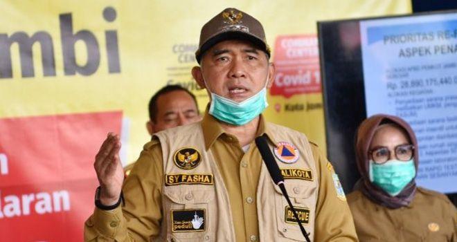 Walikota Jambi, Sy Fasha.