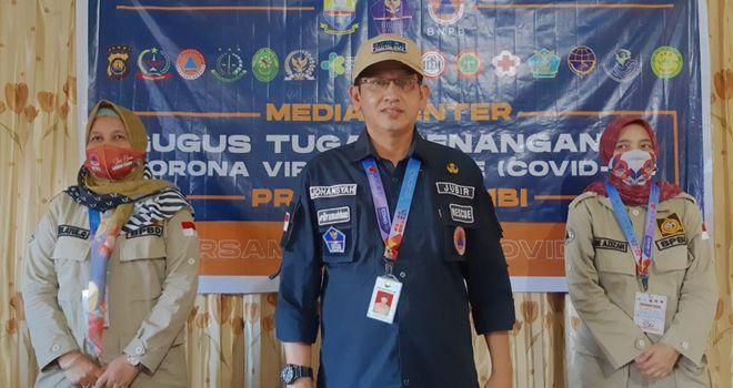 Jubir Gugus Tugas Covid19 Provinsi Jambi.