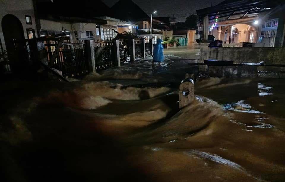 Puluhan Ribu Rumah Warga di Kerinci Terendam Banjir.
