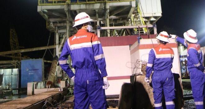 Pertamina EP Jambi Sukses Bor Sumur SGC-28 Di Tengah Pandemi Covid-19.