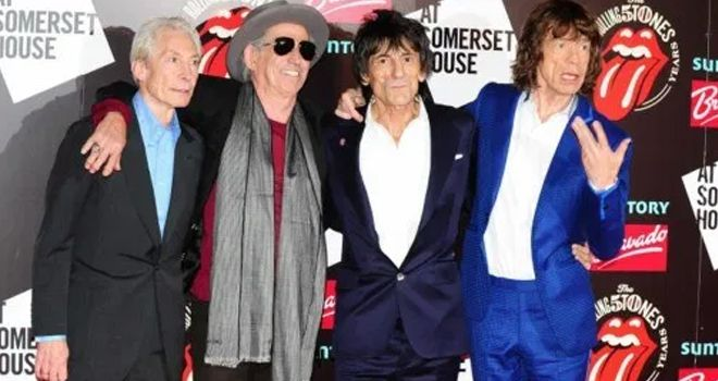 Band rock legendaris, The Rolling Stones.