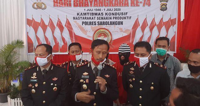 Kapolres Sarolangun, AKBP Deny Heryanto, dalam keterangan pers.
