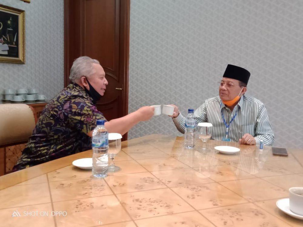 Fachrori-Safrial Janjian Ngopi Di Jakarta