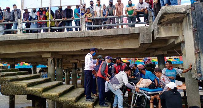 Penumpang Asal Lampung Melahirkan di Dalam speed Boat di Pelabuhan LLASDP Kualatungkal