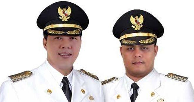 Petahana Romi Hariyanto dan Robby Nahliansyah.