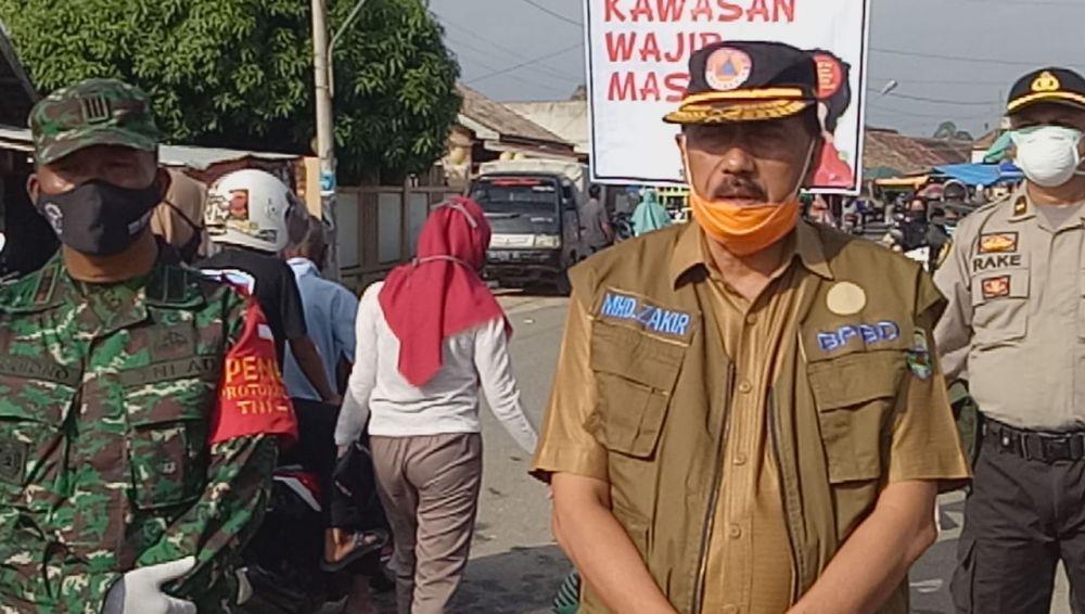 Mendadak, Bupati Masnah copot Kepala BPBD Muaro Jambi.