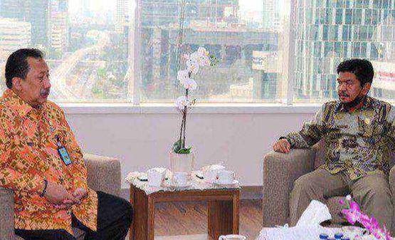 Ketua DPRD Sarolangun Temui Dirjen Imigrasi Kemenkumham