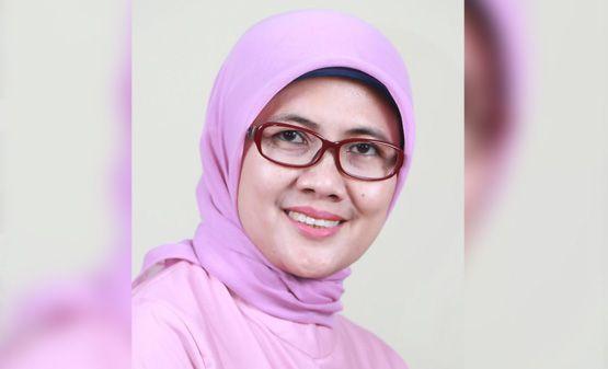 Bakal calon Bupati Tanjung Jabung Barat Cici Halimah.