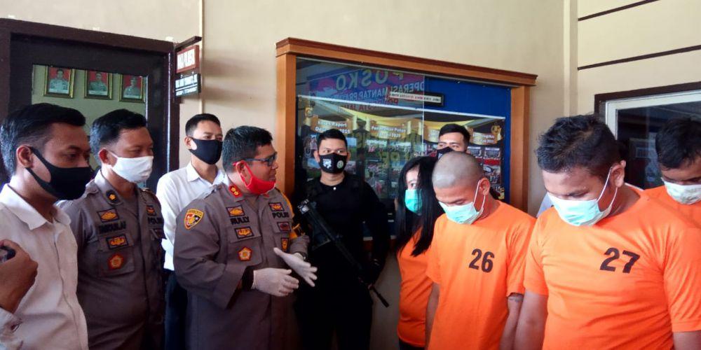 Satresnarkoba Polresta Jambi Amankan 23 Pria dan 1 Wanita