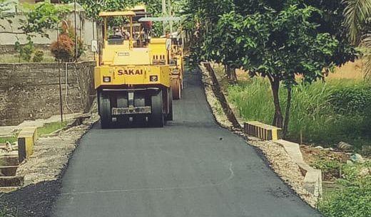 Perbaiki Jalan Dalam Kota Sarolangun