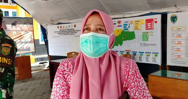 dr Elfie Yennie Juru Bicara Covid-19 Kabupaten Batanghari.