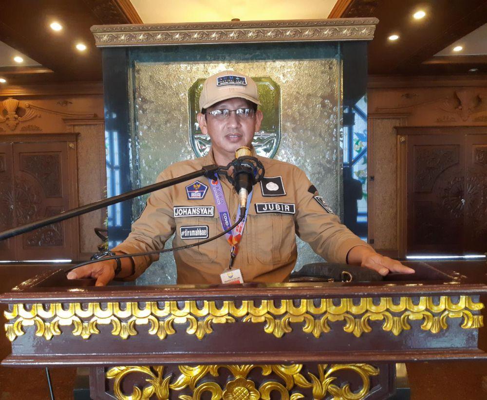 Juru bicara satgas Covid19 Provinsi Jambi Johansyah