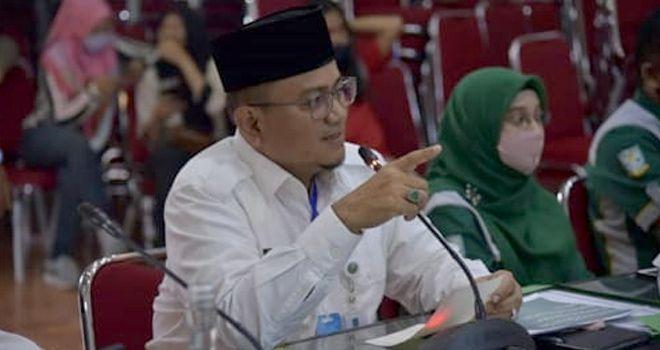 Wakil Walikota Jambi Maulana .