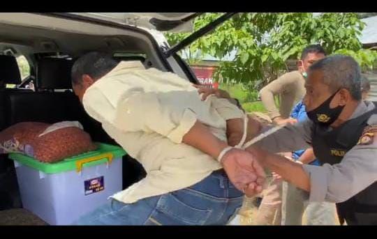 Pelaku Rampok Toke Pinang di Desa Sungai Gebar Ditangkap.