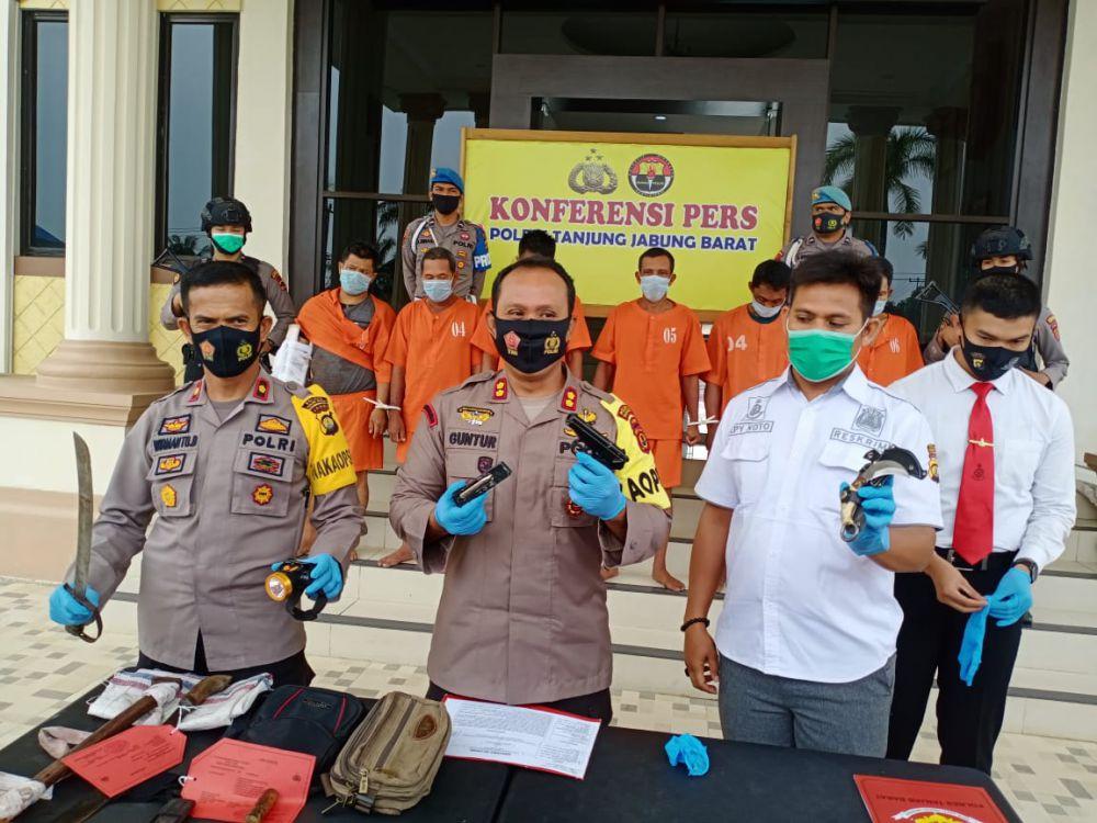 Motif Pelaku Perampokan di Kuala Betara Ternyata Gara-gara Pinjam Uang