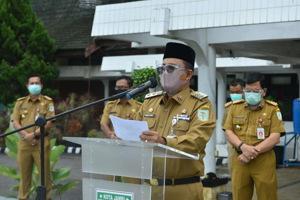 Wakil Walikota Jambi, Maulana.