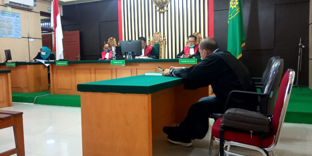 Eksepsi Arfan Ditolak Majelis Hakim