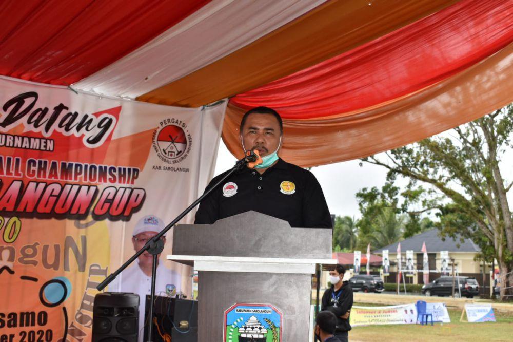 Wakil Bupati Sarolangun, H. Hilallatil Badri.