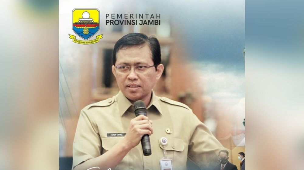 Pjs Gubernur Jambi Restuardy Daud Sugeha.
