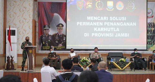 Danrem 042/Garuda Putih Brigjen TNI M Zulkifli.
