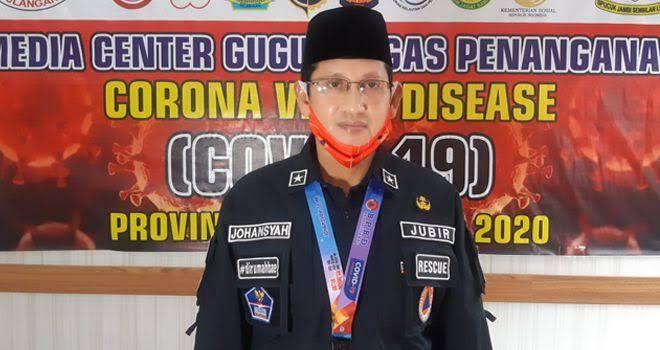 Jubir covid-19 Provinsi Jambi Johansyah.