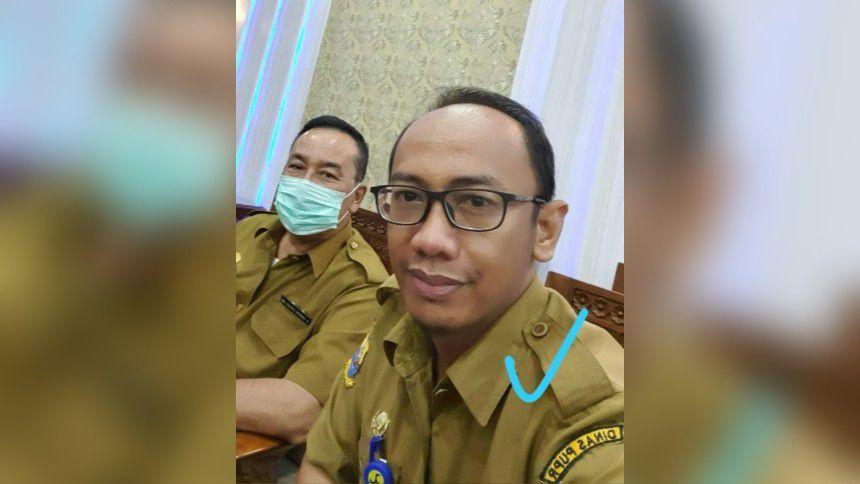 Kepala UPTD Alkal PUPR Provinsi Jambi M. Iwan Rahmadi.
