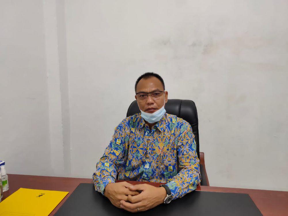 Kepala Satker Pelaksanaan Jalan Nasional Wilayah I Andre Sahattua Sirait melalui PPK 1.3 BPJN VI Jambi Tirta.