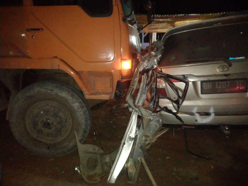Kecelakaan Lalulintas (Lakalantas) terjadi di wilayah hukum Polres Tanjung Jabung Timur (Tanjabtim).