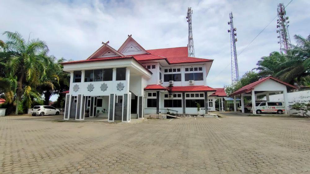 Kantor Dinkes Kabupaten Tebo.
