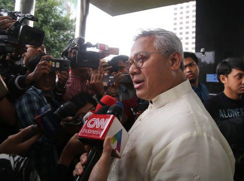 Ketua KPU Arief Budiman. (Faisal R. Syam/Fajar Indonesia Network)