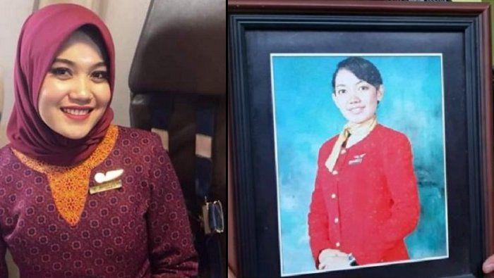 Ananda Lestari pramugari Sriwijaya Air.