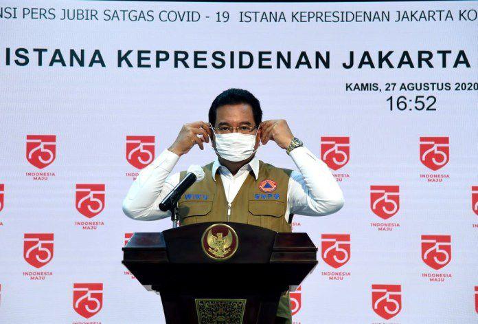 Juru Bicara Satgas Penanganan Covid-19 Wiku Adisasmito.
