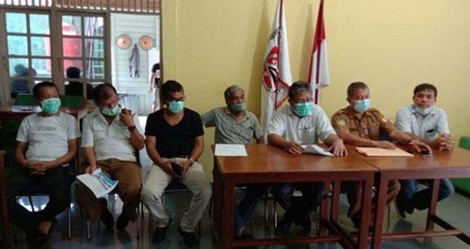 Pengurus Kerukunan Masyarakat Batak di Papua. Foto: ANTARA News Papua/HO-Humas Kerukunan Masyarakat Batak Papua