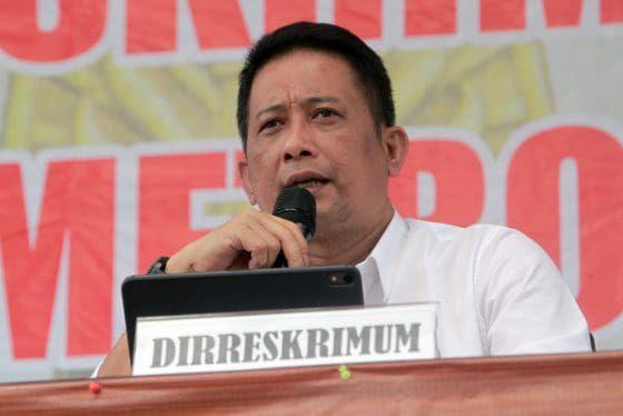 Direktur Kriminal dan Umum Polda Metro Jaya Kombes Pol Tubagus Ade Hidayat'