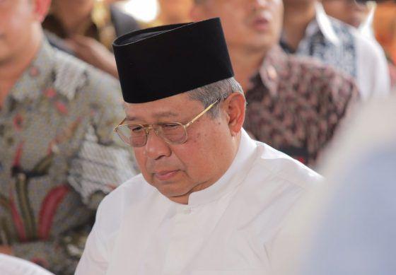 Ketua Majelis Tinggi Partai Demokrat Susilo Bambang Yudhoyono (SBY).