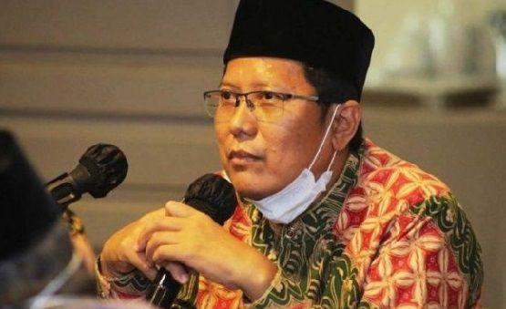 Ketua Majelis Ulama Indonesia (MUI) KH Cholil Nafis.