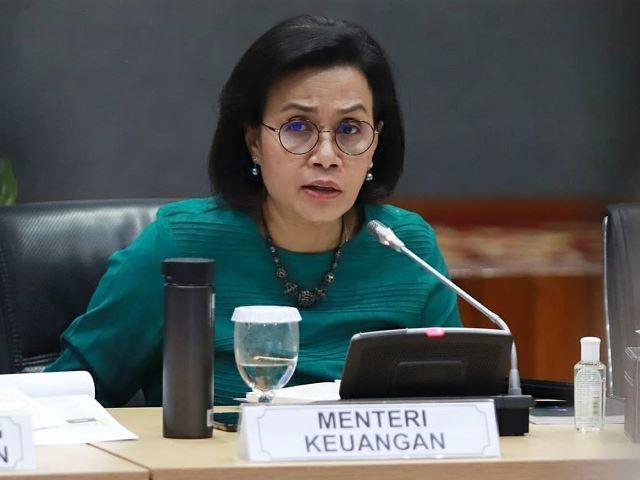 Menteri Keuangan Sri Mulyani Indrawati.