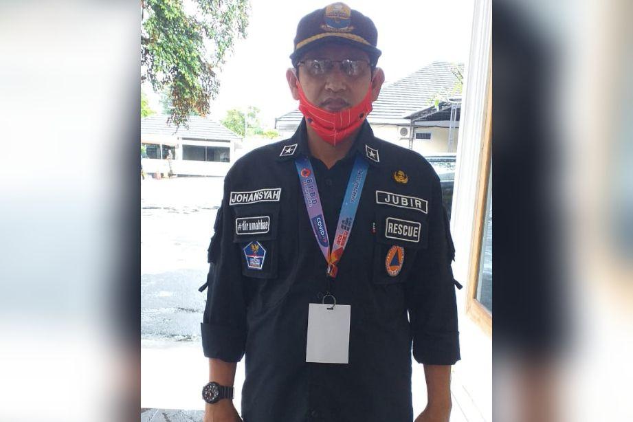Juru Bicara Satgas Penanganan Covid-19 Provinsi Jambi Johansyah.