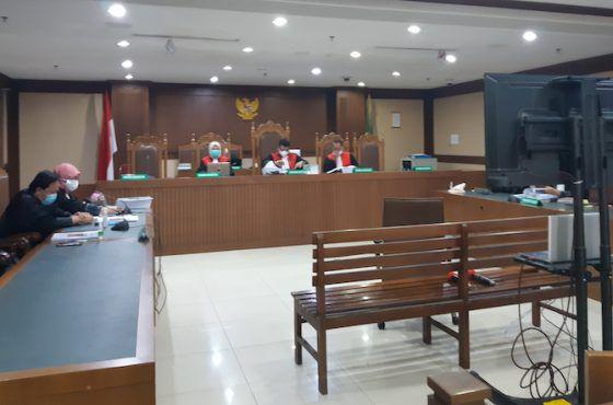 Persidangan pembacaan tuntutan mantan Anggota Badan Pemeriksaan Keuangan (BPK) Rizal Djalil di Pengadilan Negeri Tindak Pidana Korupsi (Tipikor) Jakarta, Senin (12/4).