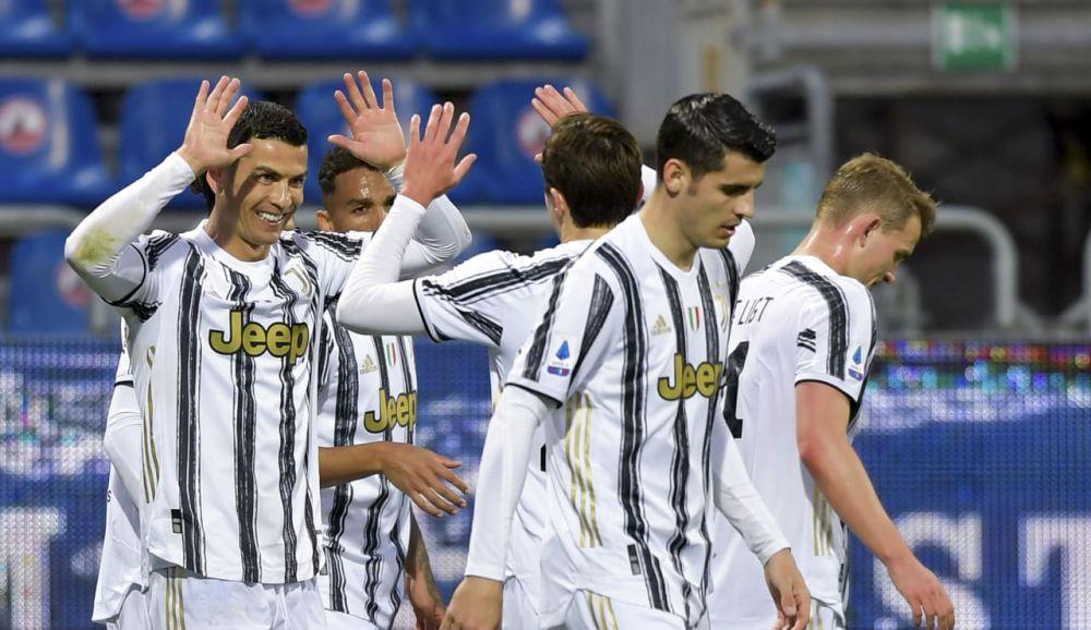 Striker Juventus, Cristiano Ronaldo.