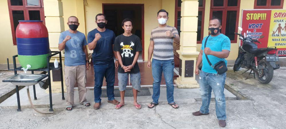 Pelaku Pembunuhan Dilokasi PETI Dibekuk Polisi.