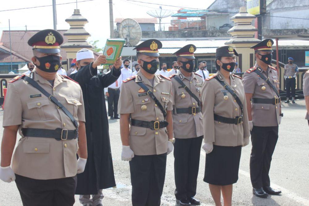 Delapan Pejabat Utama Polres Kerinci Dimutasi.
