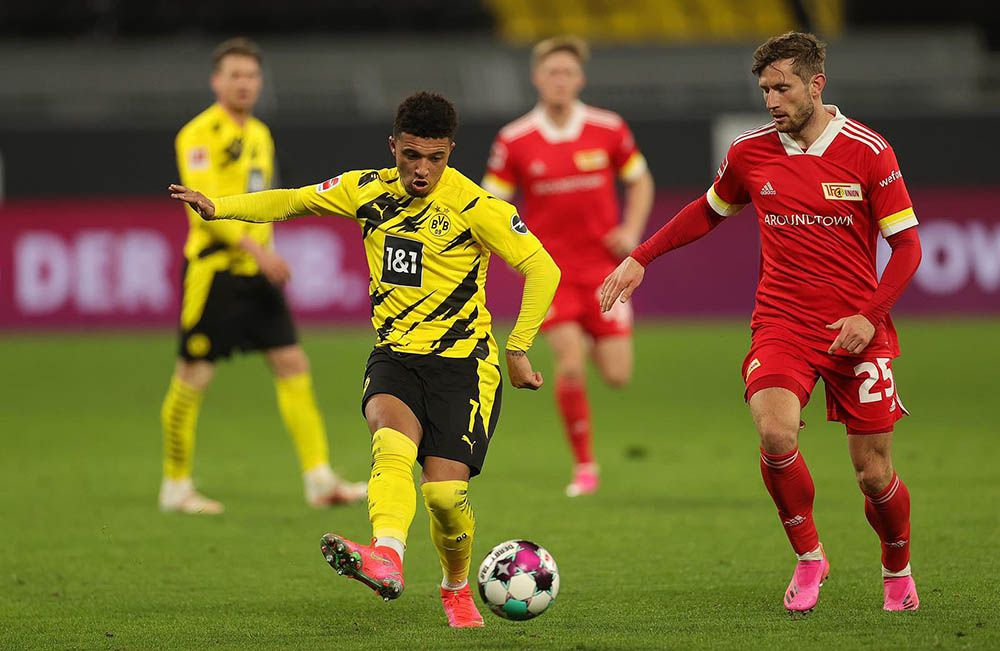 Pemain Borussia Dortmund, Jadon Sancho.