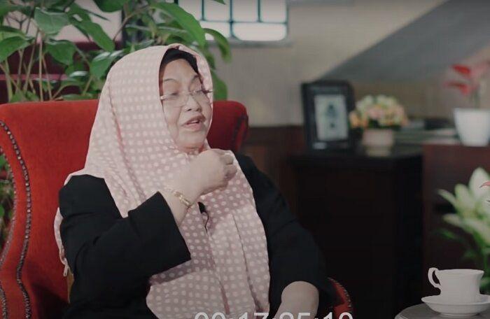 Siti Fadilah Supari.