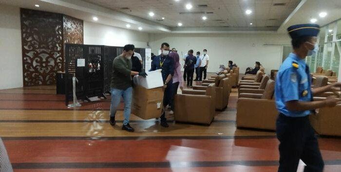 Polisi menggerebek layanan swab tes antigen di Kualanamu yang daur ulang