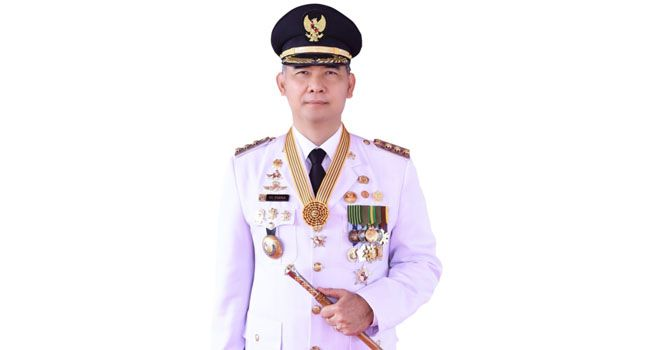 Walikota Jambi Sy Fasha. Presiden RI Jokowidodo saat Musrenbang Nasional 2021, Kemarin (4/5).