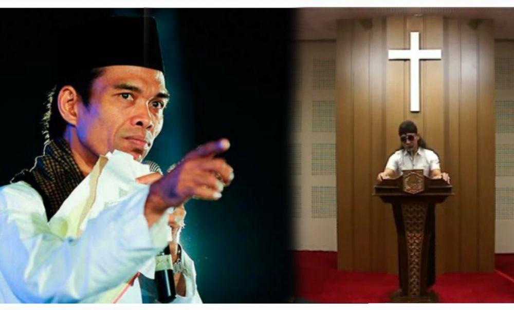 Ustad Abdul Somad dan Gus Miftah (Istimewa)